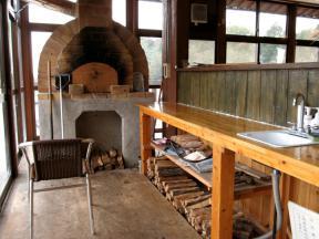 ピザ用の石窯