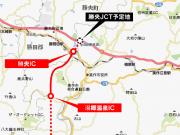 岡山美作道路 「勝央IC」-「湯郷温泉IC」区間