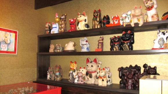 多種多様の招き猫達