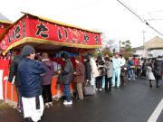 福力荒神社大祭での行列