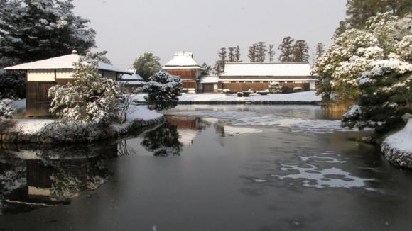 池越しの余芳閣・迎賓館