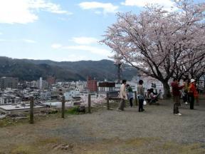 津山市街地もよく見渡せます