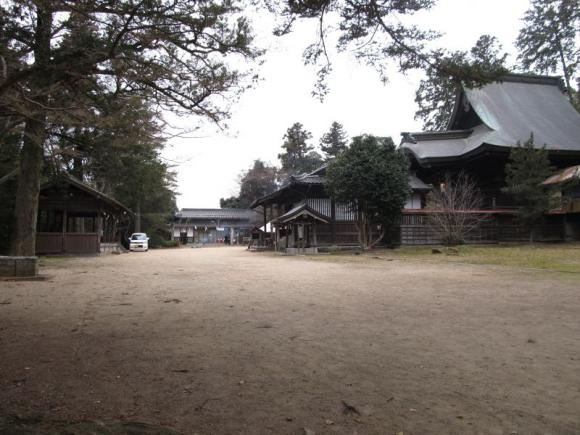 高野神社 境内