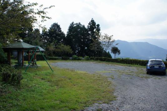 白鳥山公園 駐車場