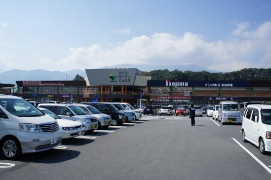 韮崎ふるさと祭り 駐車場