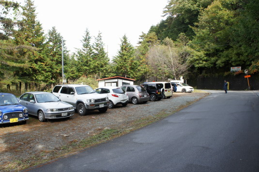 黒平ほうとう祭り 駐車場