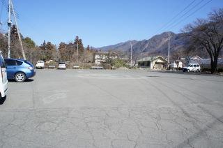 梅の花 放光寺 駐車場