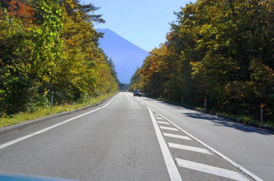 紅葉 富士山 スバルライン