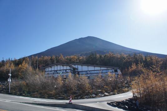 紅葉 富士山 五合目 富士山