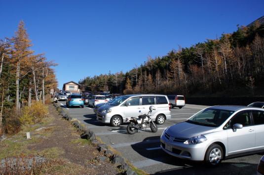 奥庭自然公園 駐車場