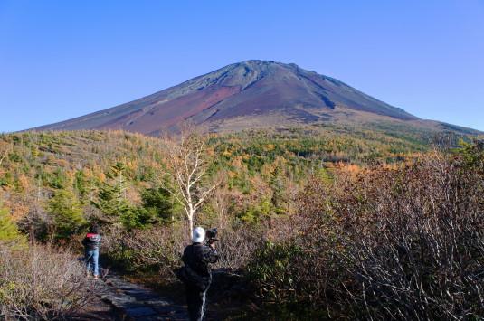 奥庭自然公園 富士山