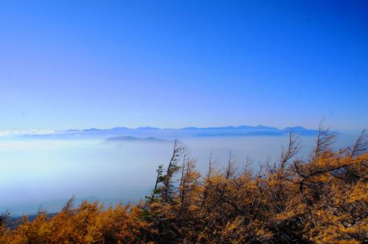 奥庭自然公園 雲海