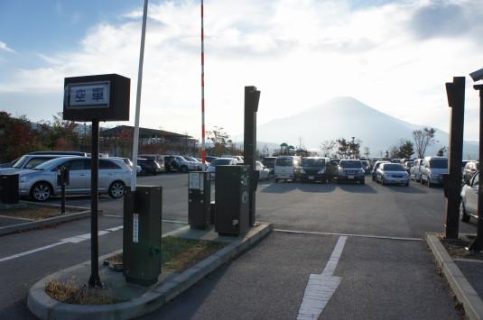 ダイヤモンド富士山中湖 駐車場