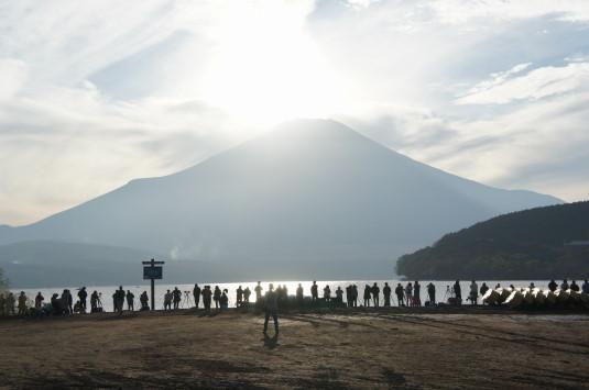 ダイヤモンド富士山中湖 観客2