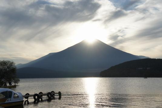 ダイヤモンド富士山中湖 出た