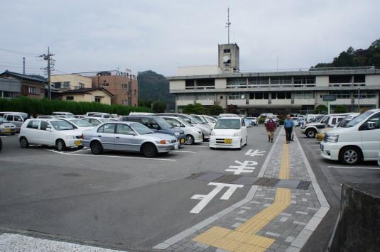 お茶壷道中 駐車場