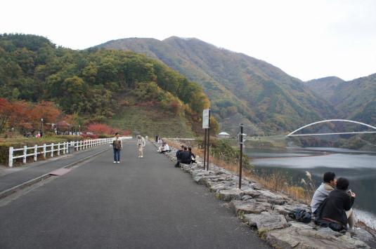 紅葉 みずがき湖 湖畔