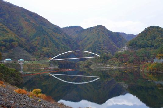 紅葉 みずがき湖 北
