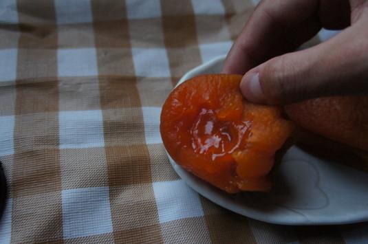あんぽ柿 中身