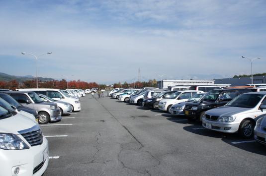 富士川祭り 駐車場