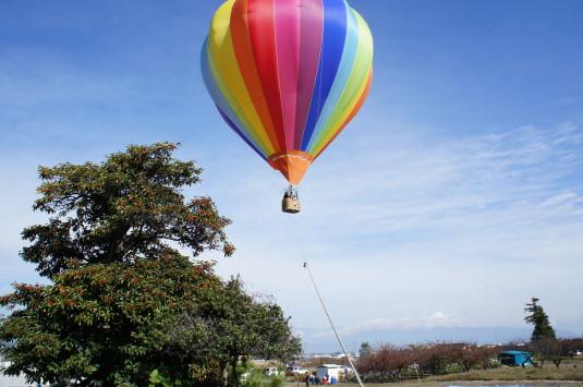 富士川祭り 気球