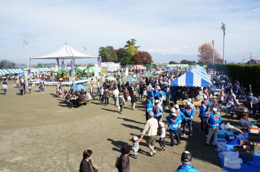 富士川祭り 運動場