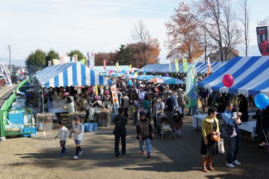 富士川祭り 小グラウンド