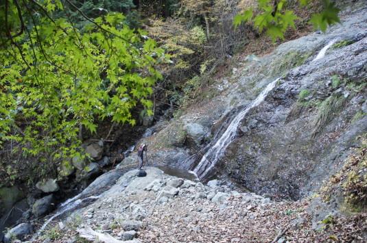 紅葉 大柳川渓谷 五段の滝ポイント