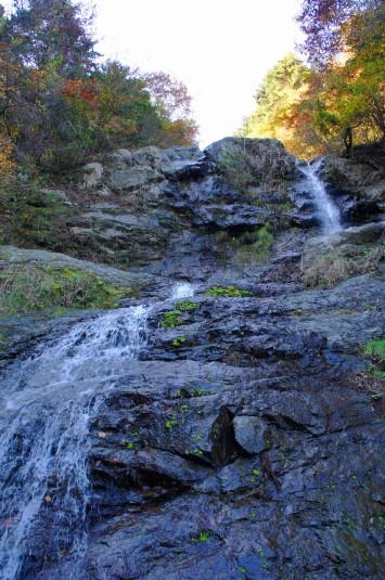 紅葉 大柳川渓谷 五段の滝