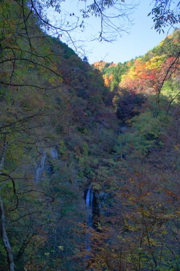 紅葉 大柳川渓谷 まぼろしの滝