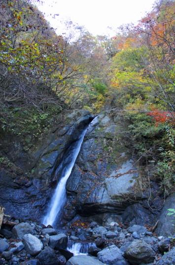紅葉 大柳川渓谷 涼みの滝