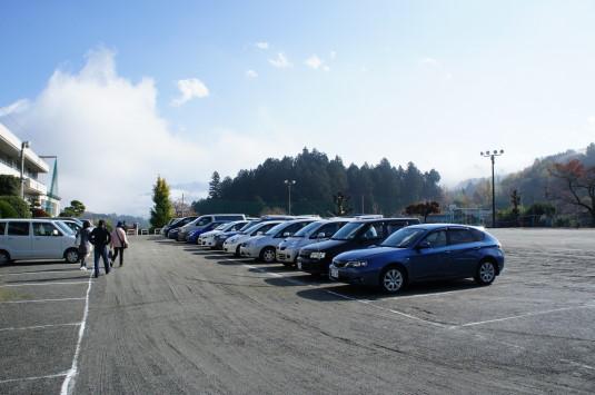 ゆずの里祭り 駐車場