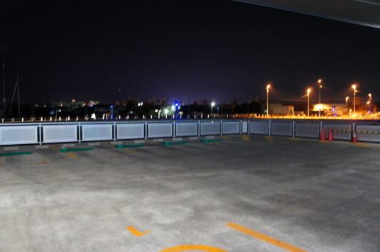 イルミネーション 竜王駅 駐車場