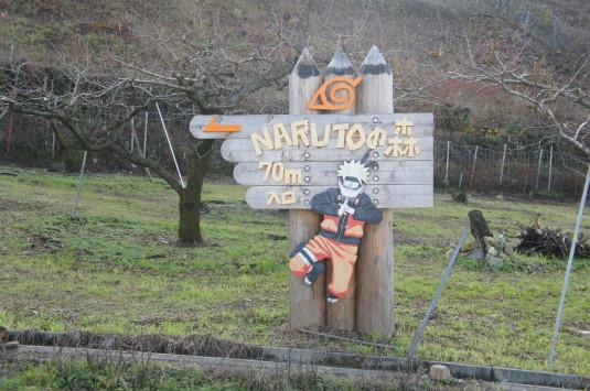 ナルトの森 入口
