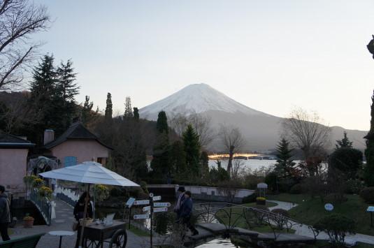オルゴールの森 富士山