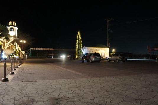 イルミネーション 旅日記 駐車場