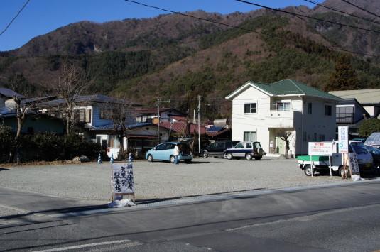 初詣 河口浅間神社 駐車場