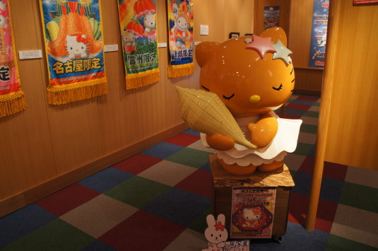 昇仙峡観光 影絵の森 キティ