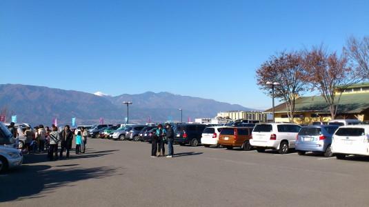 大塚にんじん収穫祭 駐車場