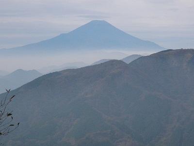 111030大山からの富士2