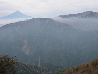111030大山からの富士1