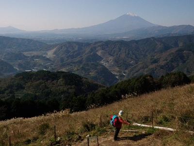 111123大野山からの富士山1