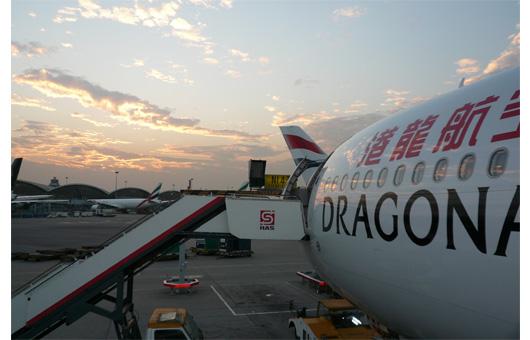 香港〜カトマンズはドラゴン航空