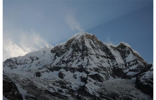 アンナプルナ南峰斜光2