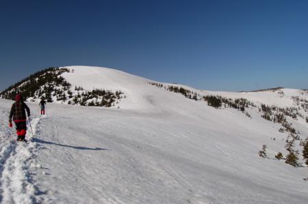 34駒岳へ