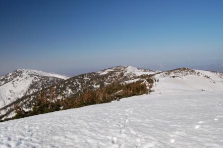 37駒岳から