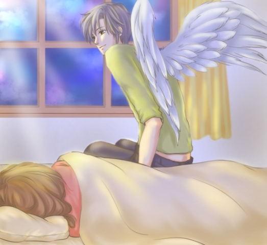 ベッドサイドの天使1