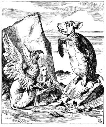 ウミガメとグリフォン