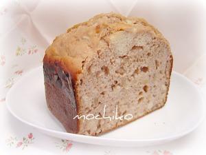 20101025クルミとリンゴとシナモンのパン