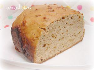 20101106コーヒーと練乳とアーモンドのパン